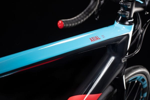 Cube Axial GTC WS Pro Lightblue 'n' Red 2020 Front Frame