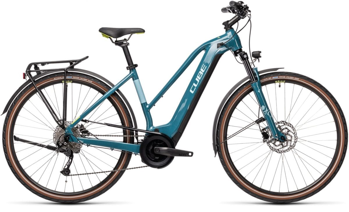 Cube Touring Hybrid One Trapeze 500 Blue 'n' Green 2021