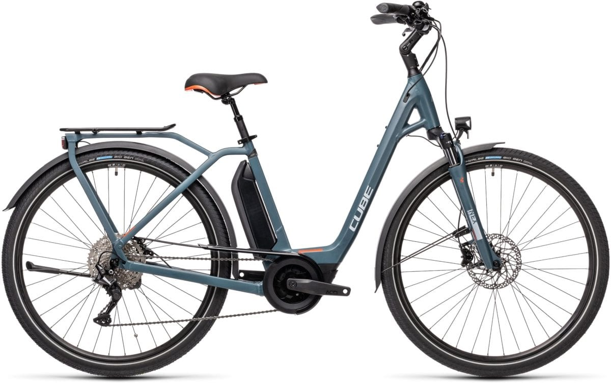 Cube Town Sport Hybrid Pro 500 Blue 'n' Red 2021