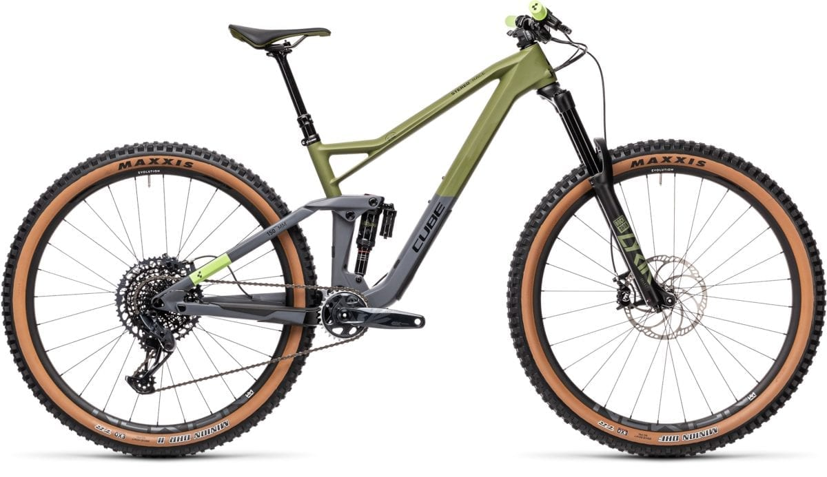 Cube Stereo 150 C62 Race 29 Olive 'n' Grey 2021